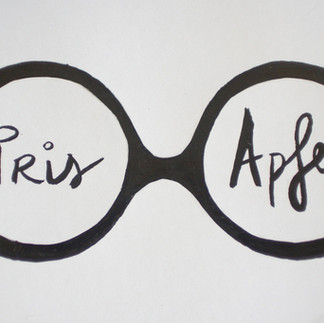 This iconic Iris Apfel eyewear is brought to us by parisapartment.com.