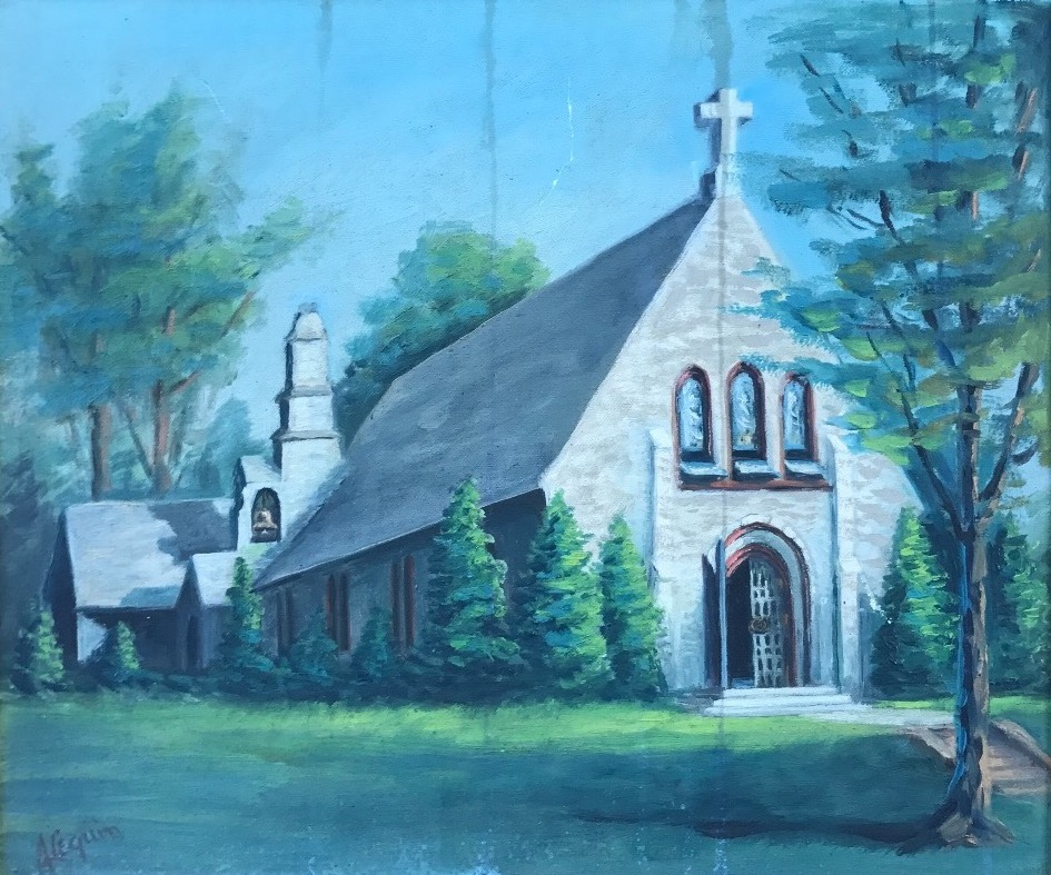 Painting of Little Church