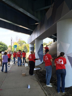 Vibrant Corridors Project Volunteers