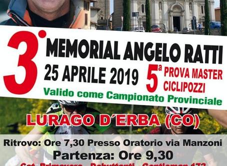 MASTER CICLI POZZI 2019 TORNA A LURAGO D'ERBA (CO) PER IL CAMPIONATO PROVINCIALE XC DELL'ACSI.