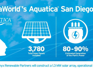 Aquatica San Diego Cuts the Electrical Cord with Company's First Solar Panel Installation