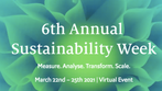 6th Annual Economic Sustainability Week