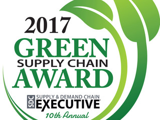 CBS Receives a 2017 SDCE Green Supply Chain Award