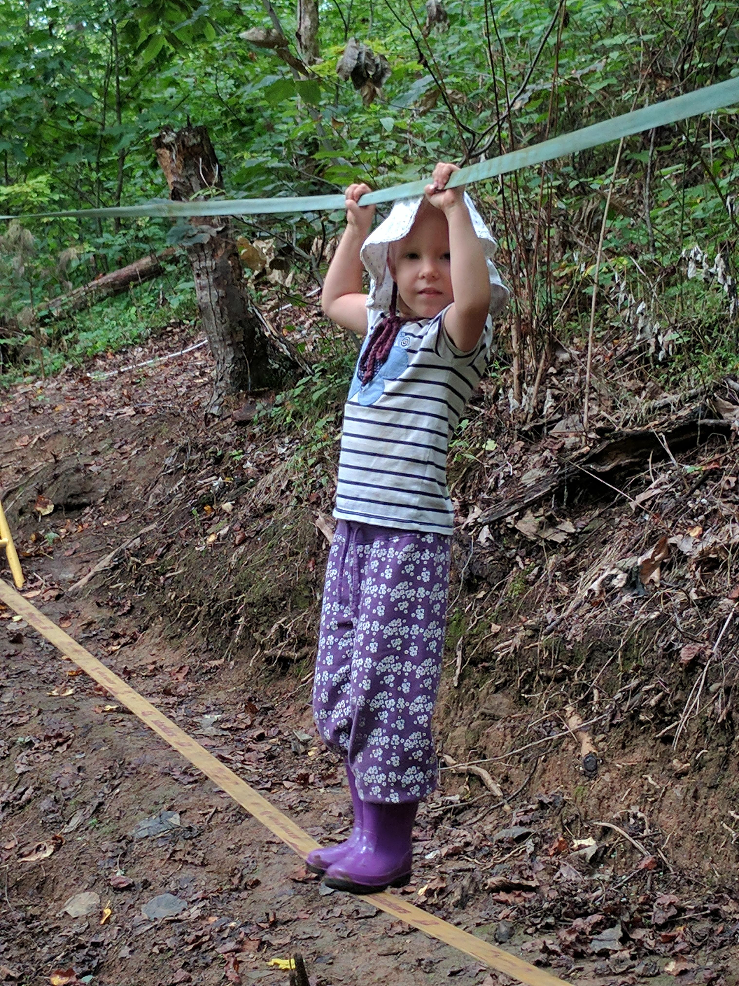 Ashevillefarmstead-kids-forest-slackline-summercamp