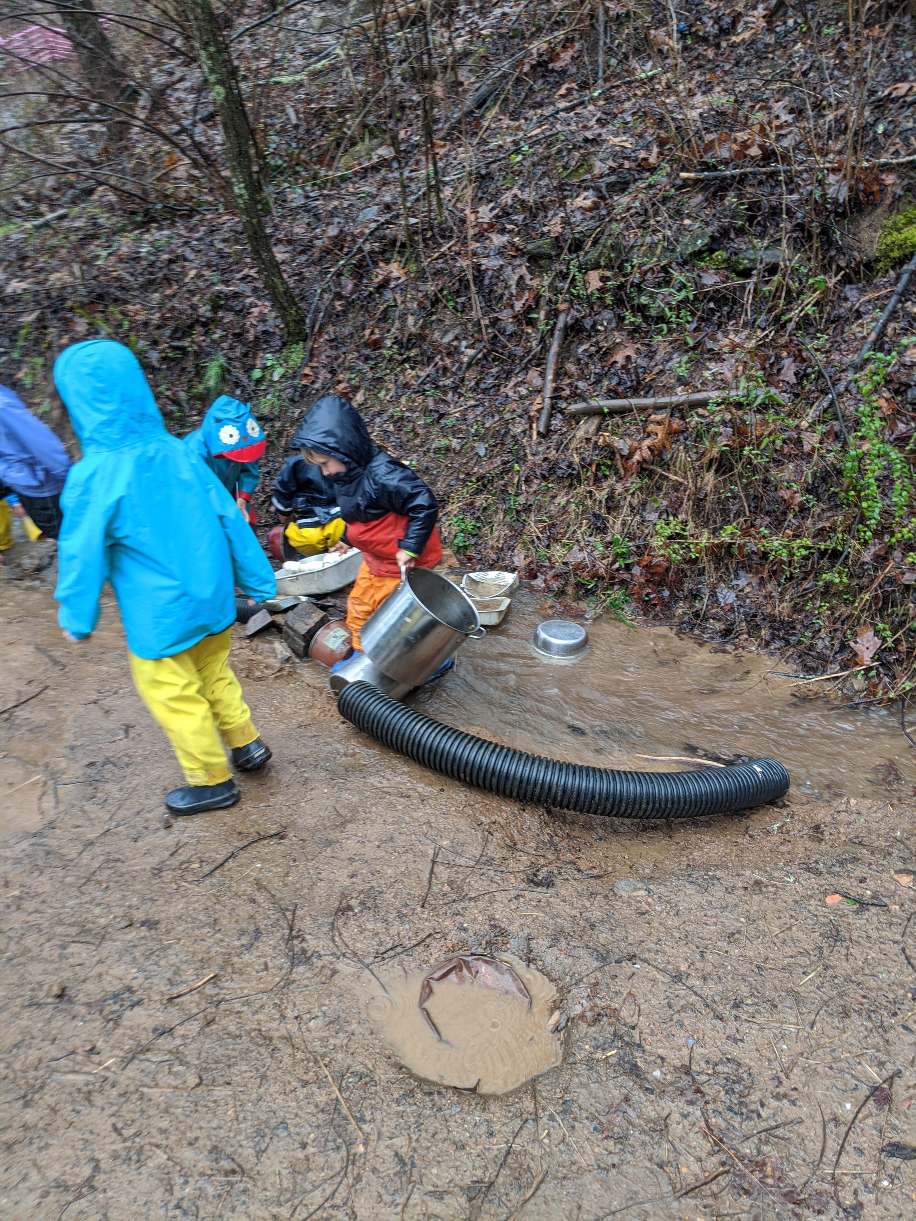 Ashevillefarmstead-creekplay-mudplay-rainyday