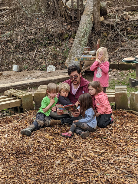 ashevillefarmstead-storytime-sprouts-outside-nature