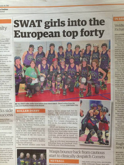 SWAT girls into top European top 40