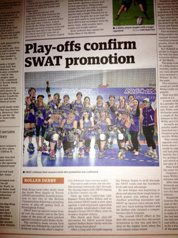 Play-offs confirm SWAT promotion