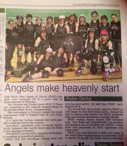 Angels make heavenly start