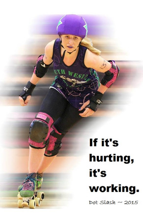 Diary of a Roller Derby Freshie - Day 6