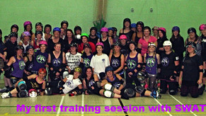 Diary of a Roller Derby Freshie - Day 1