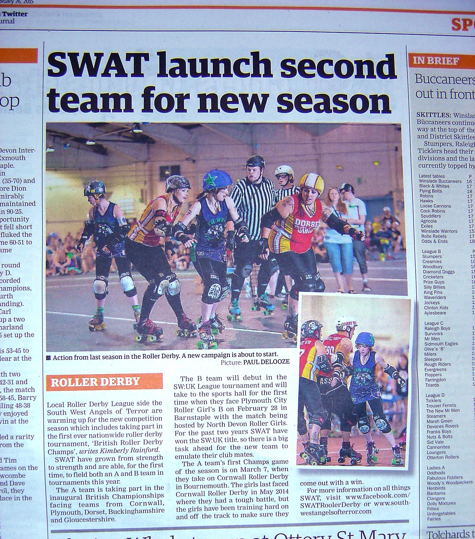 SWAt launch second team