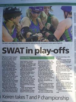 SWAT in play-offs