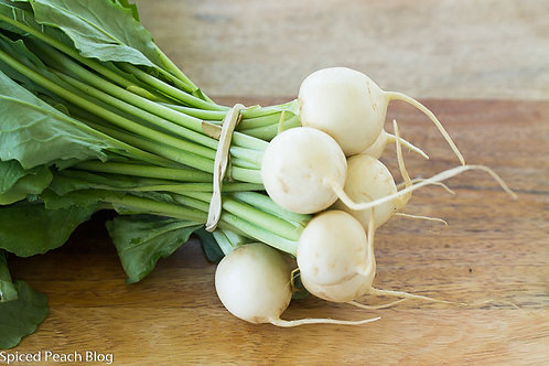 1 Bunch Baby Hakurei Turnip
