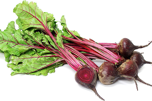 1 Case Red Beets (with leaves) (Wholesale)