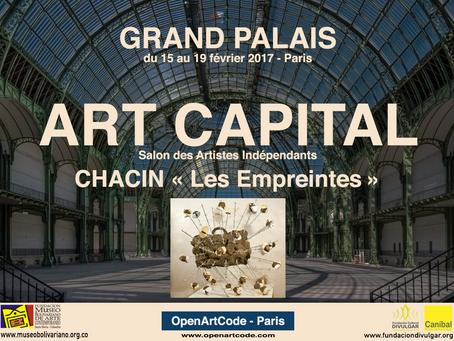 """CHACIN / Expone """" Impresiones """" del 15 al 19 de Febrero en el Grand Palais. Paris, Francia"""
