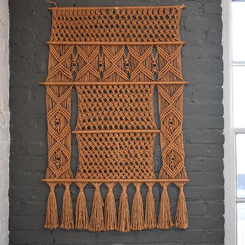 Jute Macrame Wall Hanging