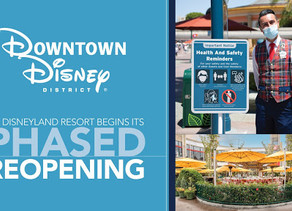 Welcome Back to Downtown Disney District at Disneyland Resort