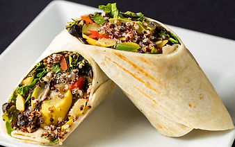 Veggie Wrap with Quinoa