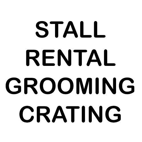 Stall Rental 10'x10'