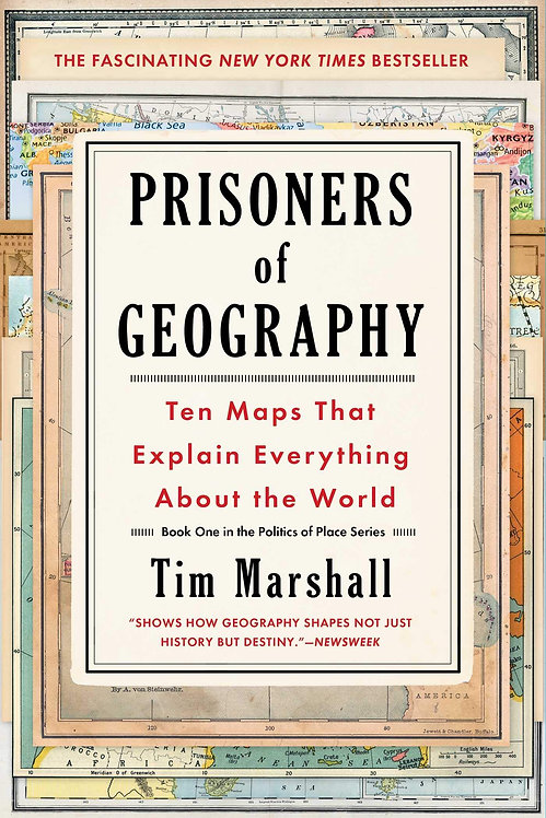[Audio+Ebook] Prisoners of Geography