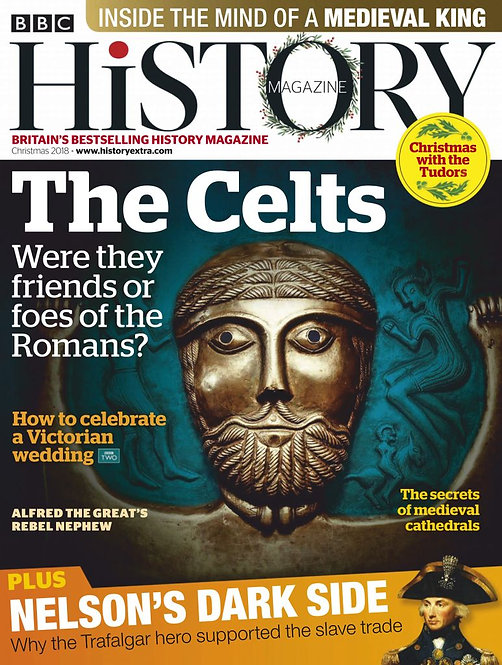 [Mag] BBC History Magazine 2018 Full Year Issues