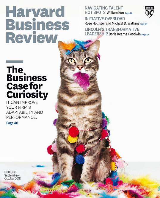 [Mag] Harvard Business Review 2018 Full Year Issues