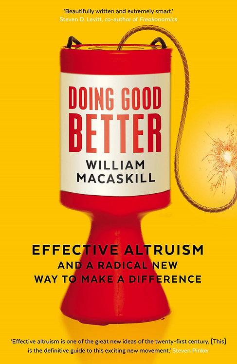 [Audio+Ebook] Doing Good Better