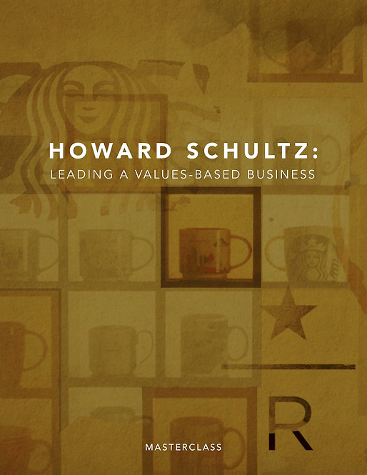 [KH Video] Howard Schultz - Leading a Values Based Business