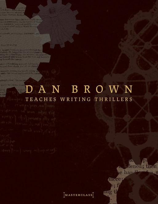 [KH Video + Sub] Dan Brown Teaches Writing Thrillers