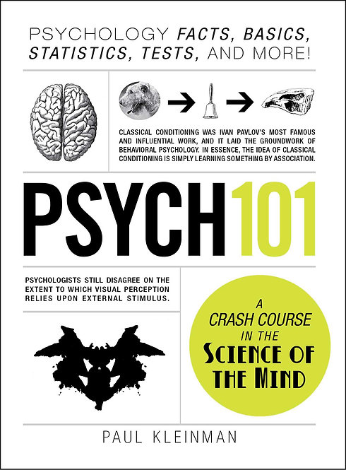 [Audio+Ebook] Psych 101: Psychology Facts, Basics, Statistics, Tests, and More!