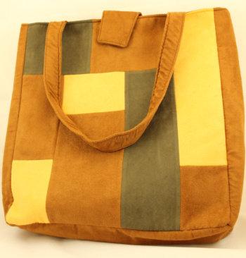 Yellow Patchwork Bag