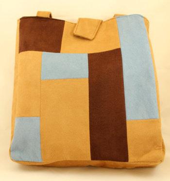 Tan Patchwork Bag