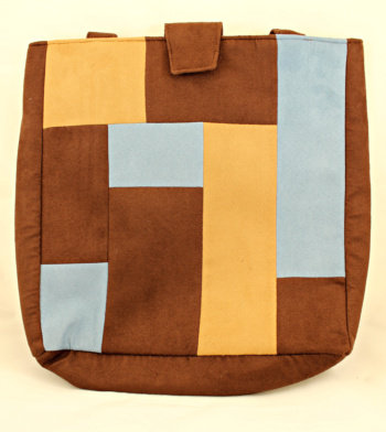 Chocolate Patchwork Bag