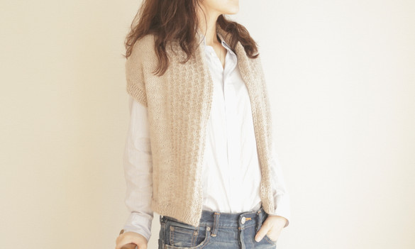 New work  -cardigan-