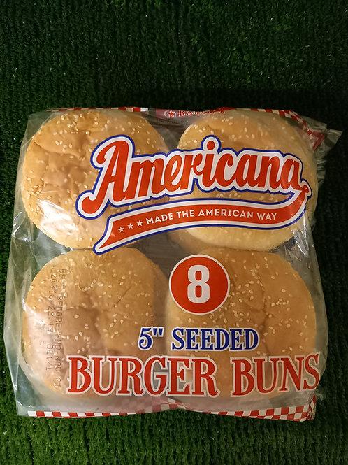 8 American Seasoned Burgers and Buns