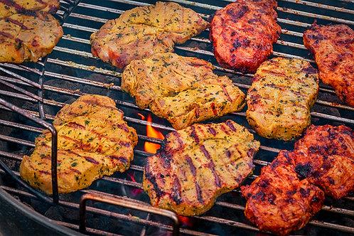 4 x Flavoured Pork Steaks (400g)