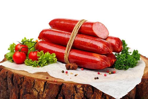10 X Jumbo Saveloy Sausages