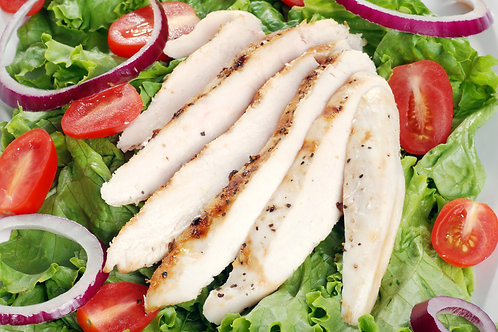COOKED CHICKEN BREAST STRIPS