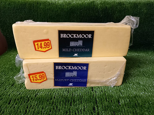 Mild or Mature Cheddar Cheese (2.5KG)