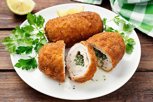 8 Garlic Chicken Kiev's