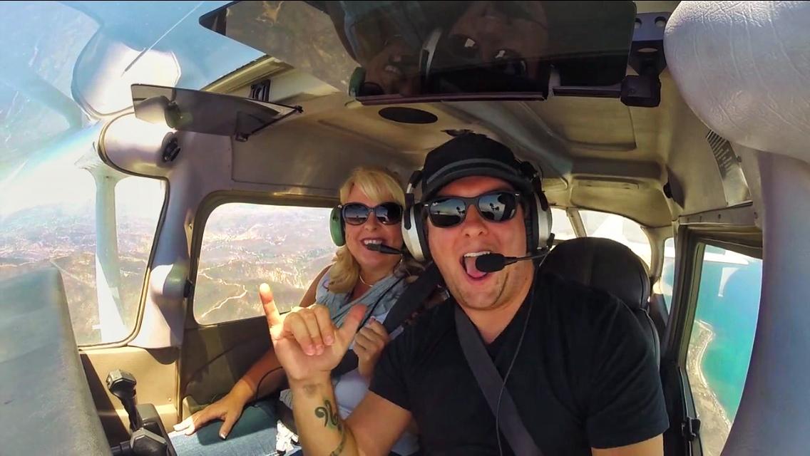 Flying My Mom