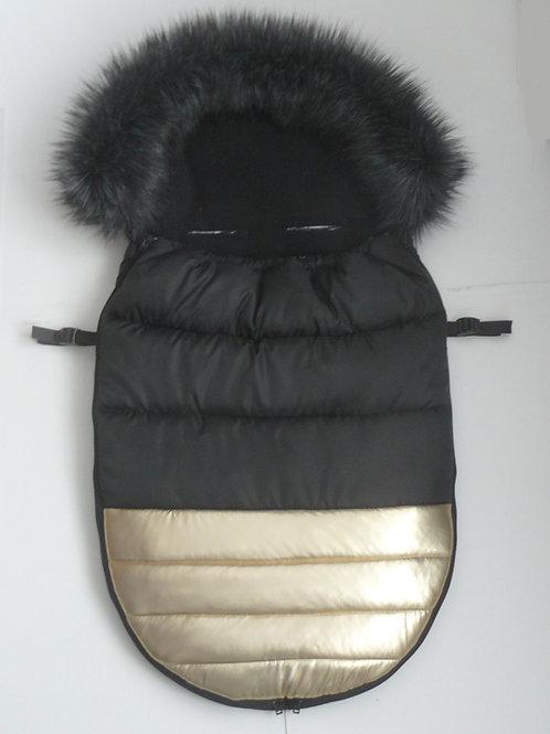 KUTNIK - śpiwór DeLux do wózka/sanek Polarowy 100cm