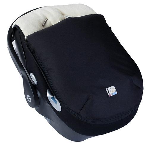 Śpiworek niemowlęcy do fotelika samochodowego