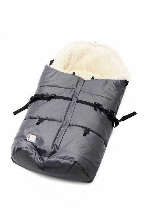 Śpiwór niemowlęcy do wózka i sanek 80-110cm (Baranek)