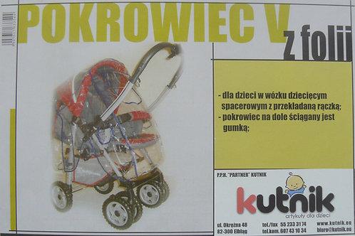 Pokrowiec przeciwdeszczowy na wózek model V