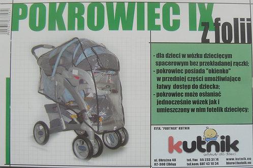Kopia Pokrowiec przeciwdeszczowy na wózek model IX