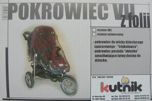 Pokrowiec przeciwdeszczowy na wózek model VII