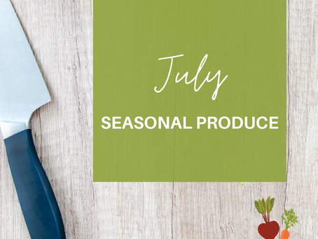 The days are hot and produce is fresh!