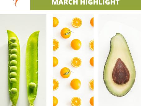 March Seasonal Produce